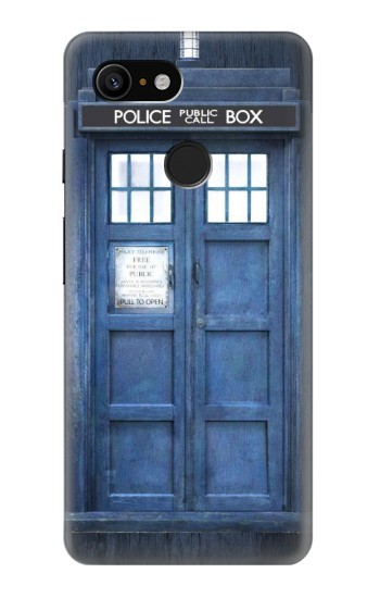 Printed Doctor Who Tardis Google Pixel 3 Case
