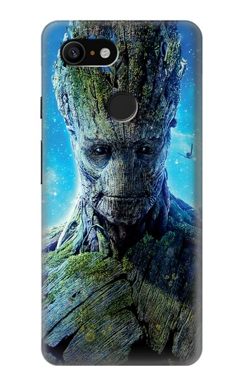 Printed Groot Guardians of the Galaxy Google Pixel 3 Case