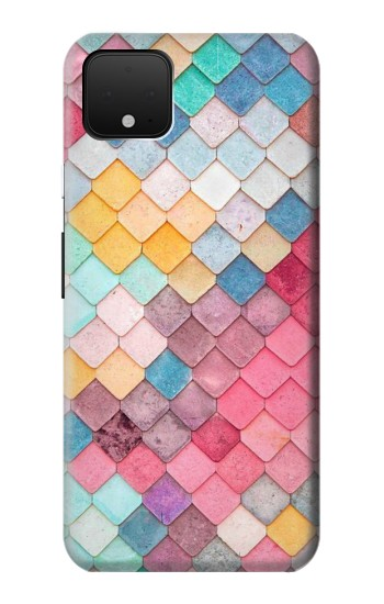 Printed Candy Minimal Pastel Colors Google Pixel 4 Case