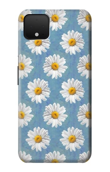 Printed Floral Daisy Google Pixel 4 Case