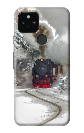 Printed Steam Train Google Pixel 5 Case