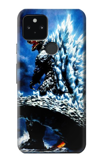 Printed Godzilla Giant Monster Google Pixel 5 Case