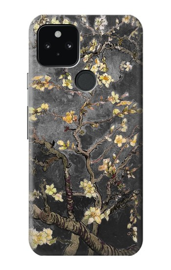 Printed Black Blossoming Almond Tree Van Gogh Google Pixel 5 Case
