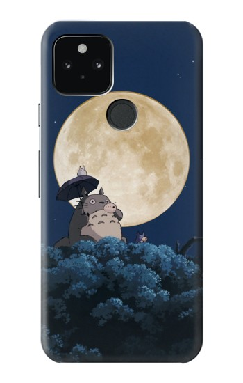 Printed Totoro Ocarina Moon Night Google Pixel 5 Case
