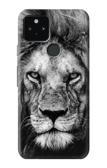Printed Lion Face Google Pixel 5 Case