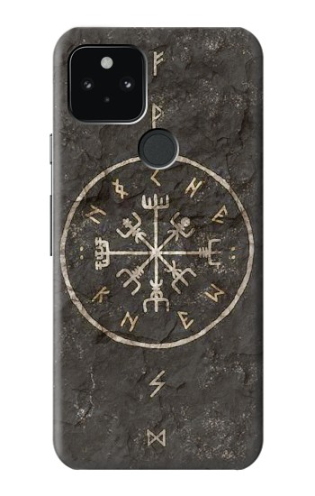 Printed Norse Ancient Viking Symbol Google Pixel 5 Case