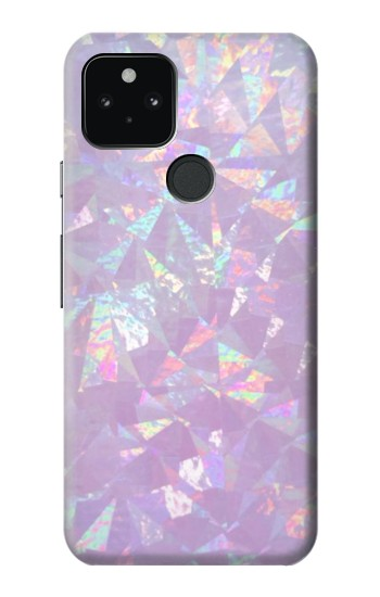 Printed Iridescent Holographic Photo Printed Google Pixel 5 Case