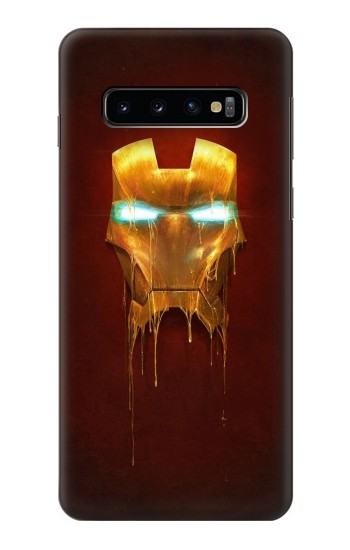 Printed Ironman Mask Samsung Galaxy S10 Case