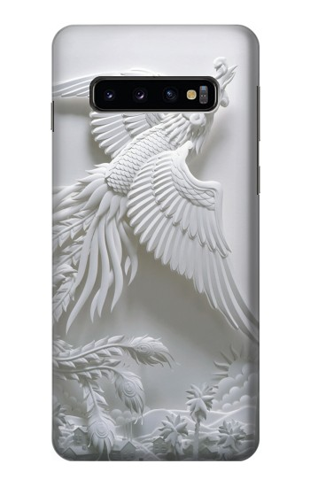 Printed Phoenix Carving Samsung Galaxy S10 Case