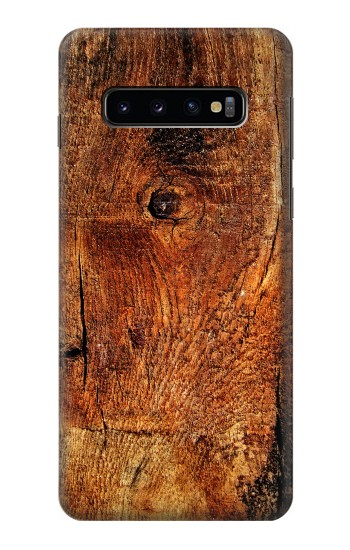Printed Wood Skin Graphic Samsung Galaxy S10 Case