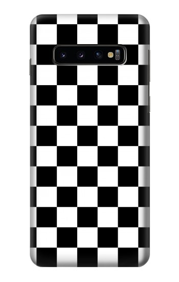 Printed Checkerboard Chess Board Samsung Galaxy S10 Case
