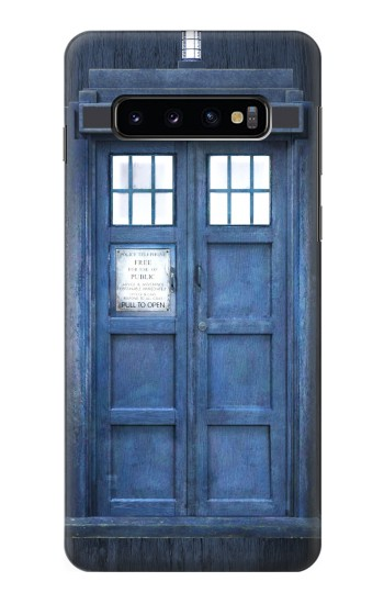 Printed Doctor Who Tardis Samsung Galaxy S10 Case