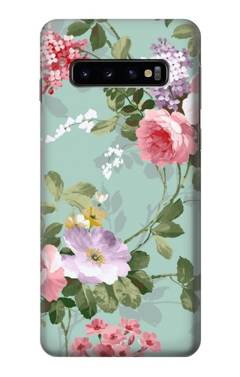 Printed Flower Floral Art Painting Samsung Galaxy S10 Case