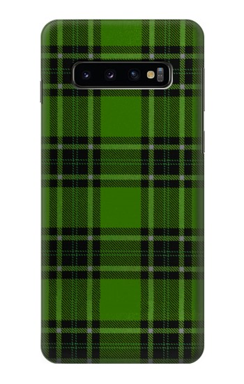 Printed Tartan Green Pattern Samsung Galaxy S10 Case