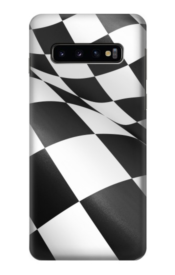 Printed Checkered Winner Flag Samsung Galaxy S10 Case