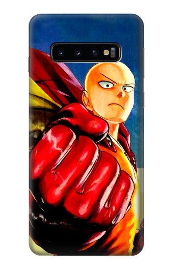 Printed Saitama One Punch Man Samsung Galaxy S10 Case