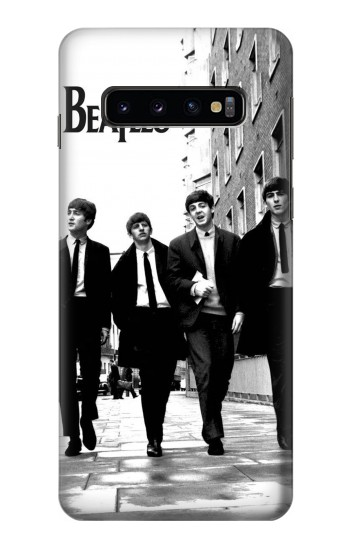Printed The Beatles in London Samsung Galaxy S10 Case