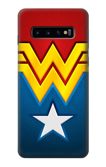 Printed Wonder Women Logo Samsung Galaxy S10 Case