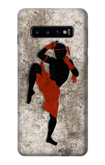Printed Muay Thai Fight Boxing Samsung Galaxy S10 Case