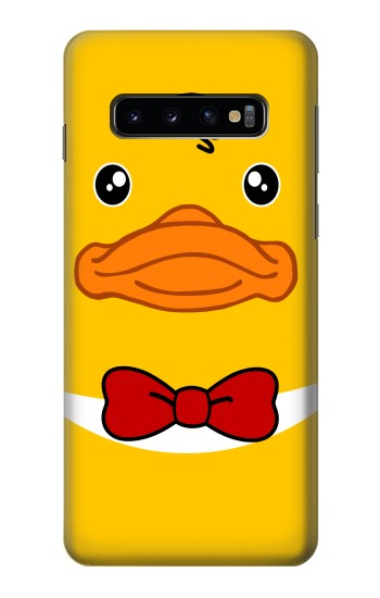 Printed Yellow Duck Samsung Galaxy S10 Case