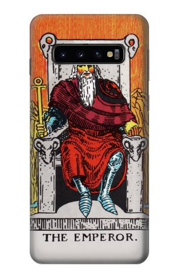 Printed Tarot Card The Emperor Samsung Galaxy S10 Case