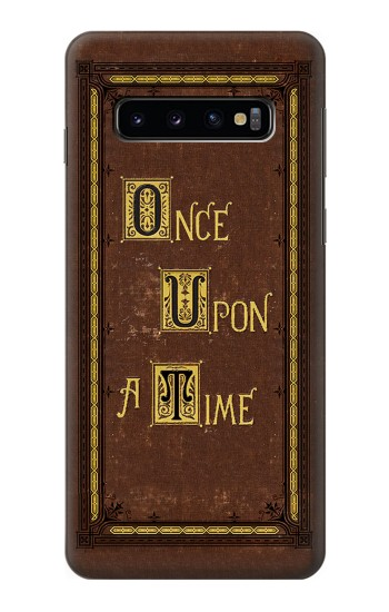 Printed Once Upon a Time Book Cover Samsung Galaxy S10 Case