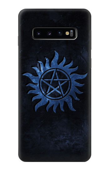 Printed Supernatural Anti Possession Symbol Samsung Galaxy S10 Case