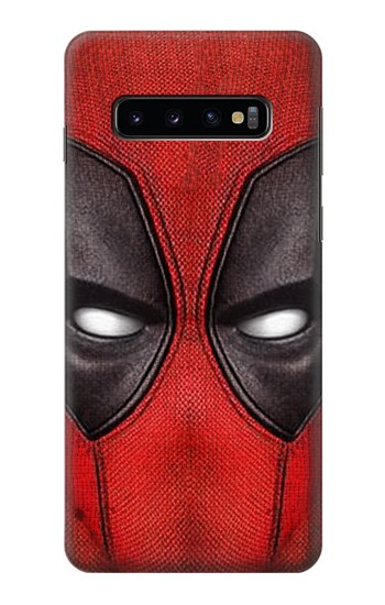 Printed Deadpool Mask Samsung Galaxy S10 Case
