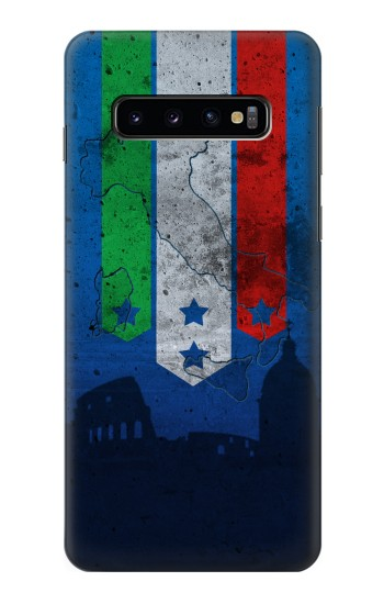 Printed Italy Football Flag Samsung Galaxy S10 Case