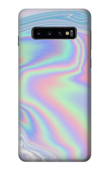 Printed Pastel Holographic Photo Printed Samsung Galaxy S10 Case