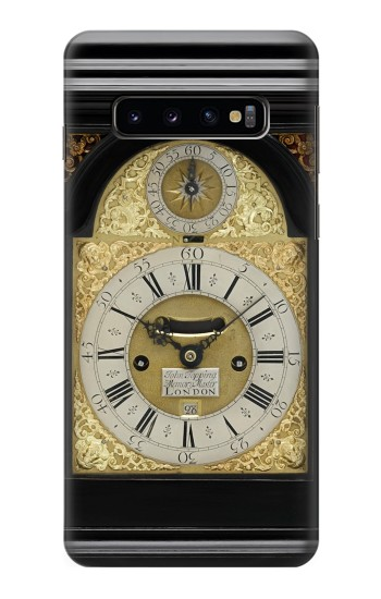 Printed Antique Bracket Clock Samsung Galaxy S10 Case