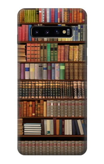 Printed Bookshelf Samsung Galaxy S10 Case