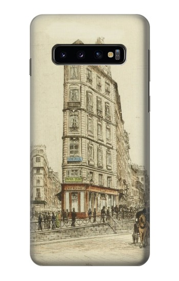 Printed Boulevards of Paris Samsung Galaxy S10 Case
