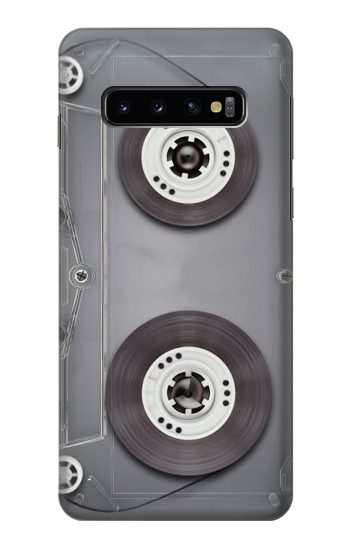 Printed Cassette Tape Samsung Galaxy S10 Case