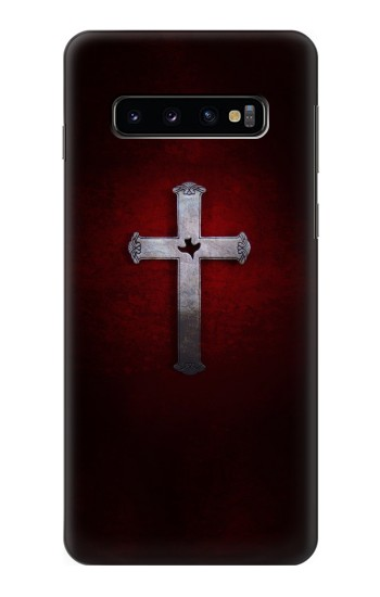 Printed Christian Cross Samsung Galaxy S10 Case