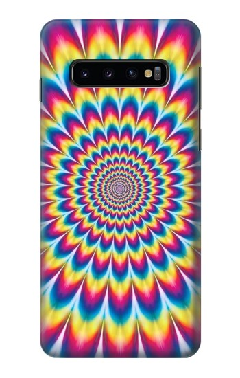 Printed Colorful Psychedelic Samsung Galaxy S10 Case