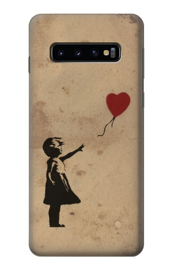 Printed Girl Heart Out of Reach Samsung Galaxy S10 Case