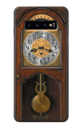Printed Grandfather Clock Antique Wall Clock Samsung Galaxy S10 Case