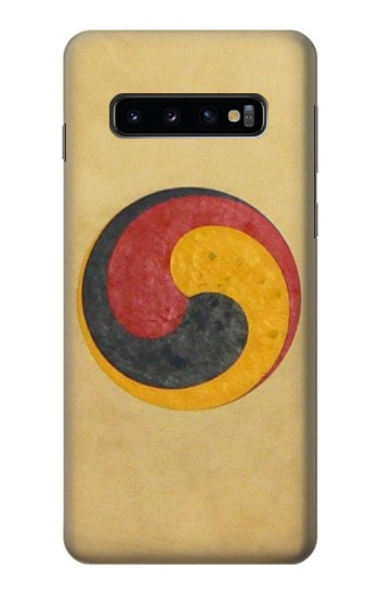 Printed Korean Traditional Drum Samsung Galaxy S10 Case