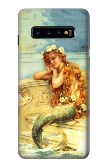 Printed Little Mermaid Painting Samsung Galaxy S10 Case
