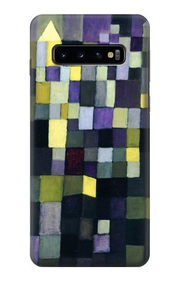 Printed Paul Klee Architecture Samsung Galaxy S10 Case