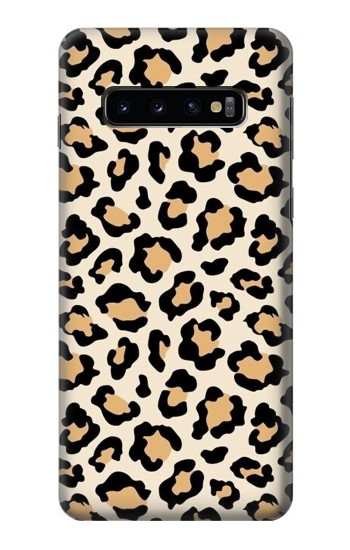 Printed Fashionable Leopard Seamless Pattern Samsung Galaxy S10 Case