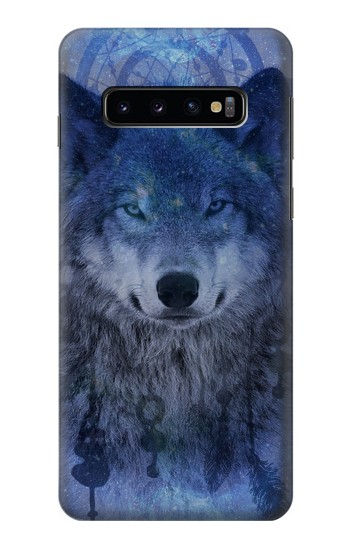 Printed Wolf Dream Catcher Samsung Galaxy S10 Case