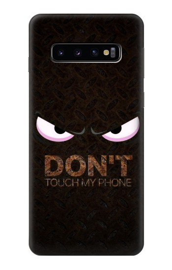 Printed Do Not Touch My Phone Samsung Galaxy S10 Case