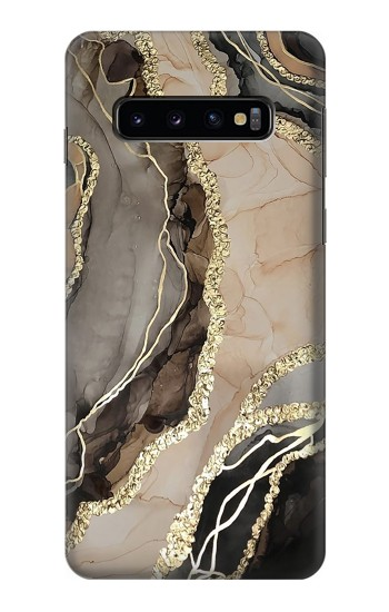 Printed Marble Gold Graphic Printed Samsung Galaxy S10 Case