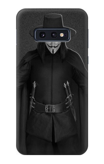 Printed V Mask Guy Fawkes Anonymous Samsung Galaxy S10 Lite, S10e Case