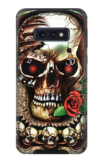 Printed Skull Wing Rose Punk Samsung Galaxy S10 Lite, S10e Case