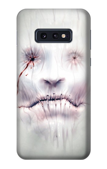 Printed Horror Face Samsung Galaxy S10 Lite, S10e Case