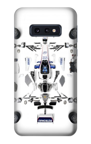 Printed Formula One F1 Auto Part Samsung Galaxy S10 Lite, S10e Case
