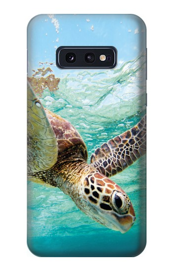 Printed Ocean Sea Turtle Samsung Galaxy S10 Lite, S10e Case
